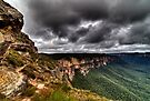 Grose Valley The Blue Mountains Australia HDR by DavidIori