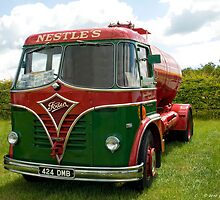 Foden Tanker by David J Knight