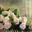 Pink Roses  by Irene  Burdell
