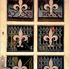 Fleur de Lys Door by nadinecreates
