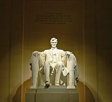Lincoln Memorial-Washington, DC by hastypudding
