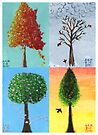 Seasonal Trees by Amy-Elyse Neer