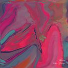LADY LOVE.... HOT PINK ABSTRACT!! by Sherri     Nicholas