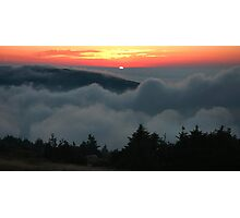 Cadillac Mountain Sunset - Acadia Photographic Print