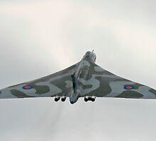 Avro Vulcan XH558 Climb Out by PhilEAF92