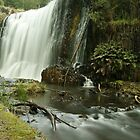 Guide Falls West Ridgley by michellerena