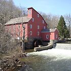 old mill by the river by PaulusF