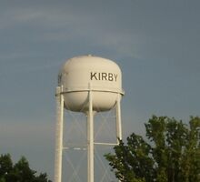 Kirby water tower  by SUZYQ56