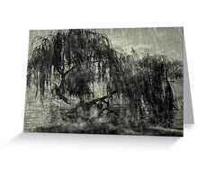 Willow Rest Greeting Card