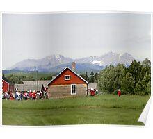 Bar U Ranch, Canada Day 2010 Poster