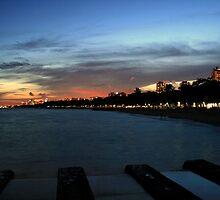 The Evening Beach by Vivek Bakshi