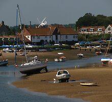 Burnham Overy Staithe, Norfolk by wiggyofipswich