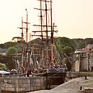 Charlestown Harbour by Paul Gibbons