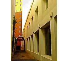Down the Alley Photographic Print