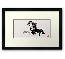 East Asian Mashup* Framed Print