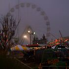 carnival of souls - ghostly amusement park by John Carey
