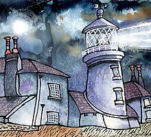 Moonstorm, Caldey, Tenby by Dorian Davies