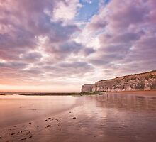 White Ness Cliffs by Steve Lane