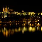 Prague by night by Nik Jowsey