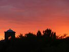 Red Sunset in Arizona by Lucinda Walter