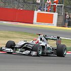 Michael Schumacher - Mercedes MGP W01 - Silverstone 2010 by MSport-Images