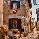 Alley Way in Italy by Warren. A. Williams