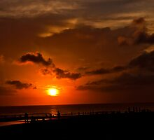 Seminyak Sunset. by Keith Irving