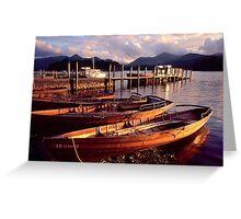 Keswick, Derwentwater - The Lake District Greeting Card
