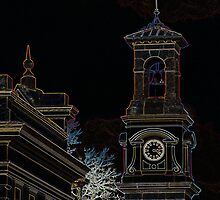 Beechworth Post Office by Bernie Rosser