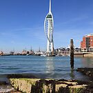 Spinaker Tower, Portsmouth by derekwallace