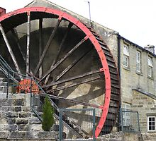 Wheely retired - watermill pateley bridge, North Yorkshire by monkeyferret