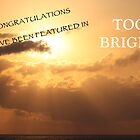 You've Been Featured in Too Bright by AlexKokas