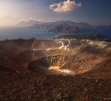 From the top of Vulcano  by Andrea Rapisarda