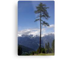 Overlooking Stubaier Alps  Metal Print