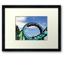 Loop De Loop Framed Print