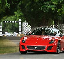Ferrari 599 GTO at Goodwood by M-Pics