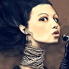 Black cherry by Alena Khandryka