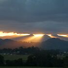 Sunrays, Murwillumbah, NSW, Australia, Aug 2005 by Odille Esmonde-Morgan