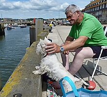 Fisherman's Friend--West Bay by lynn carter