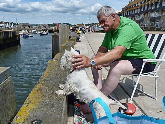 Fisherman's Friend--West Bay by lynn carter