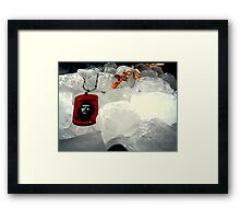 che on ice.. Framed Print