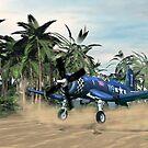 Vought F4u Corsair by Walter Colvin