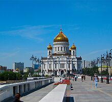 Cathedral of Christ the Saviour  by calvinincalif