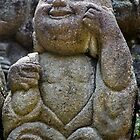 Buddha's Happy Disciple at Otagi Nembutsuji by nekineko