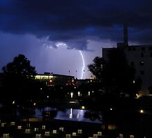 Downtown Lightning by Dennis Jones - CameraView