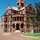 Exterior of Hopkins County Courthouse by Ann Reece