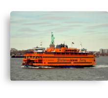staten island ferry  Canvas Print