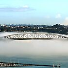 Auckland Bridge in Fog by Pip Gerard