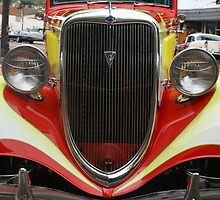 1934 Ford Grille  by heatherfriedman