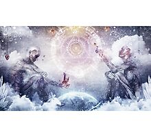 Awake In a Silver Land Photographic Print
